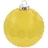 Geometric Ball Ornaments