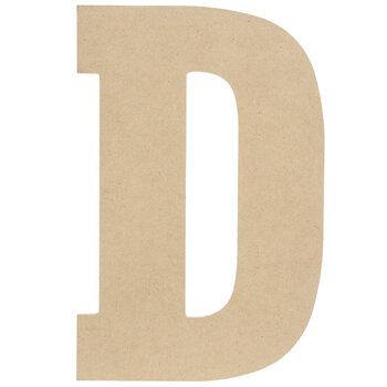 """Wood Letter D - 13"""""""