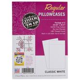 White Standard Pillowcases