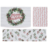 Merry Christmas Wreath Gift Boxes