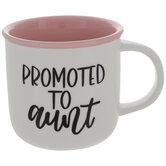 Promoted To Aunt Mug