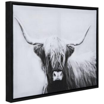 Highland Bull Canvas Wall Decor