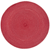 Red Round Placemat