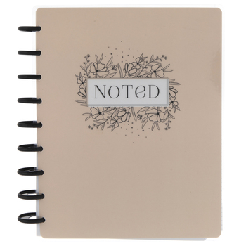Floral Happy Notes Journal