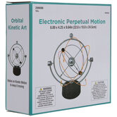 Silver Electronic Perpetual Motion Machine