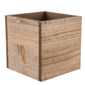 Natural Wood Container