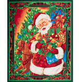 Santa Cotton Fabric