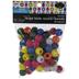 Assorted Plastic Round Beads