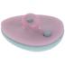 Pink & Teal Easter Egg Shank Buttons