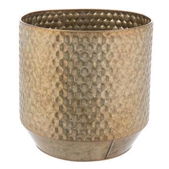 Honeycomb Metal Flower Pot