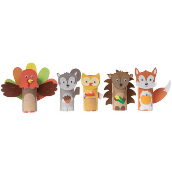 Woodland Animals Tube Craft Kit