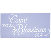 Count Your Blessings Stencil