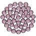 Iris Swarovski Xirius Flat Back Hotfix Crystals - 12ss