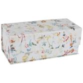 Watercolor Stems & Polka Dot Rectangle Box