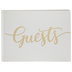Ivory & Gold Guest Book