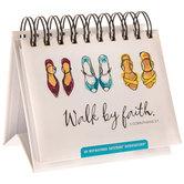 II Corinthians 5:7 Walk By Faith Perpetual Day Calendar
