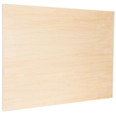 "Wood Drawing Board With Metal Edge - 18"" x 24"""
