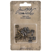 Antique Gold & Silver Mini Clips