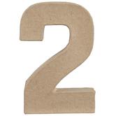 """Paper Mache Number - 4"""""""