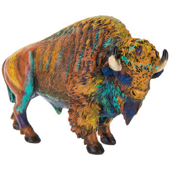Colorful Bison