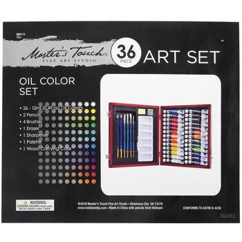 Oil Color Art Set - 36 Pieces