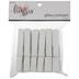 White Glitter Clothespins