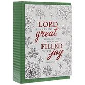 Psalm 126:3 Christmas Cards
