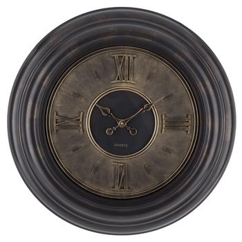 Gold Dial Wall Clock