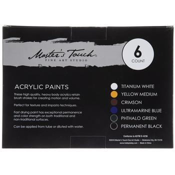 Acrylic Paint - 6 Piece Set