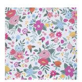 "Colorful Floral Scrapbook Paper - 12"" x 12"""