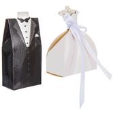 Bride & Groom Favor Boxes