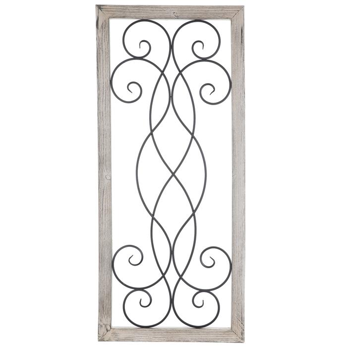 Swirled Rectangle Wood Wall Decor Hobby Lobby 1463223
