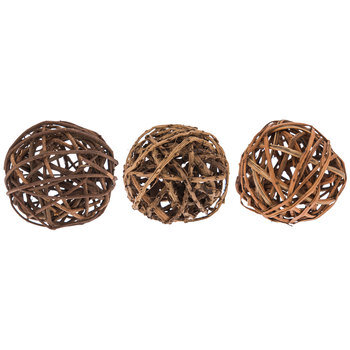 Brown Natural Beauty Decorative Spheres