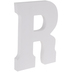White Letter Wood Wall Decor - R