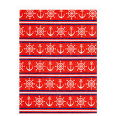 Red, White & Blue Nautical Felt Sheet