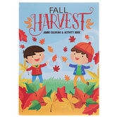 Fall Harvest Coloring & Activity Book