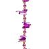 Purple Quartz Chip Bead Strand