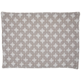 Gray & White Diamond Woven Placemat