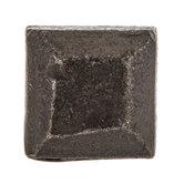 Square Forged Metal Knob