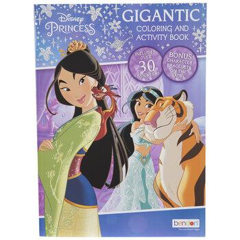 Disney Princess Coloring & Activity Book