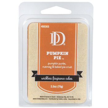 Pumpkin Pie Fragrance Cubes
