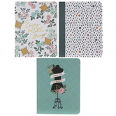 Graph, Lined & Blank Sewing Notebooks