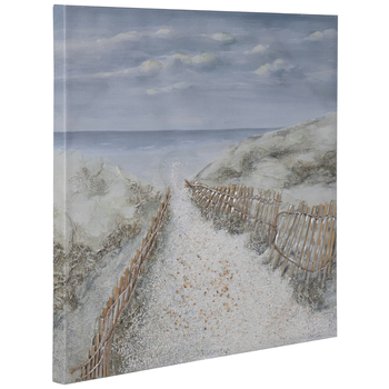 Beach Scene Canvas Wall Decor