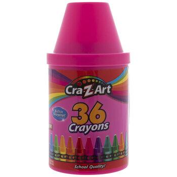 Cra-Z-Art Crayons & Sharpener - 36 Piece Set