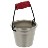 Miniature Silver Bucket
