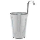 Galvanized Metal Hanging Pot
