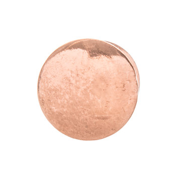 Copper Round Metal Knob