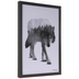 Wolf With Forest Framed Wall Decor