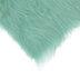 Light Green Long Pile Faux Fur