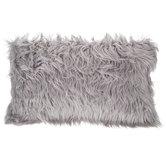 Rectangular Faux Fur Pillow